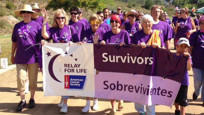 American Cancer Society's 'Relay for Life' Kicks off in Vista