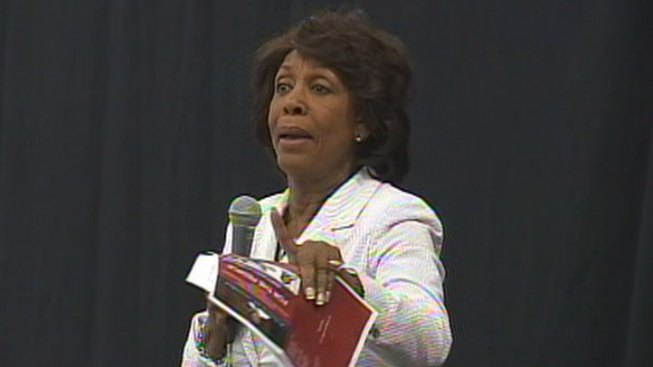 "Rep. Waters Tells Tea Party They Can ""Go Straight to Hell"""
