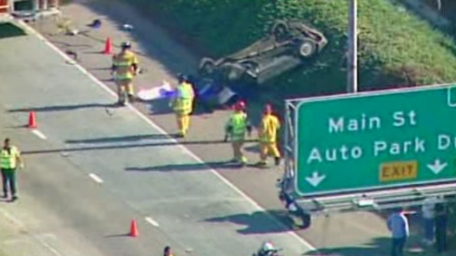 20-Year-Old Killed in Fatal Freeway Rollover Crash