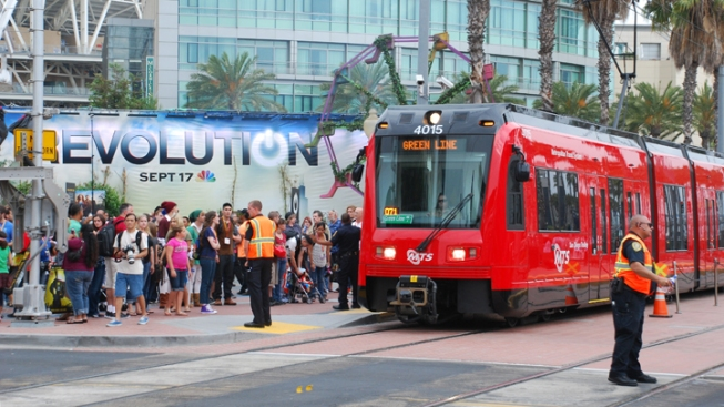 192,597 Passengers Took Trolley to Comic-Con