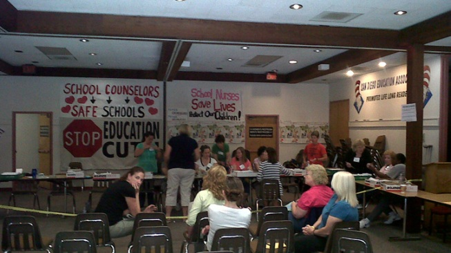 Union Members Vote to Ratify Deal to Save Teachers' Jobs