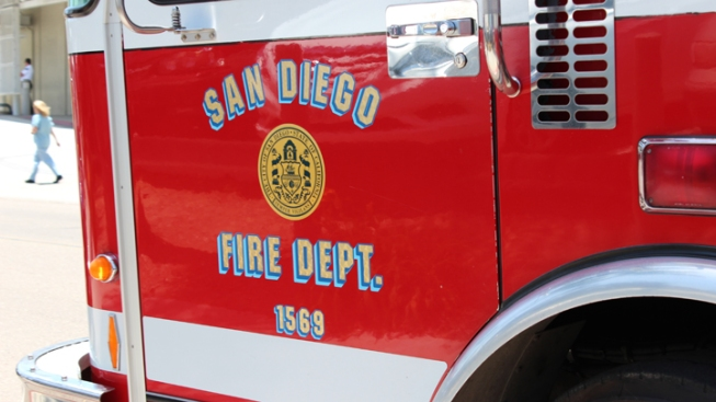 Brush Fire Contained Near SR-125