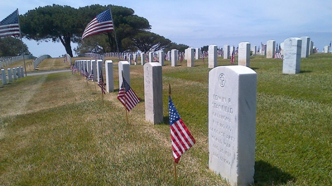 Fort Rosecrans Cemetery Not Equipped to Use Recycled Water