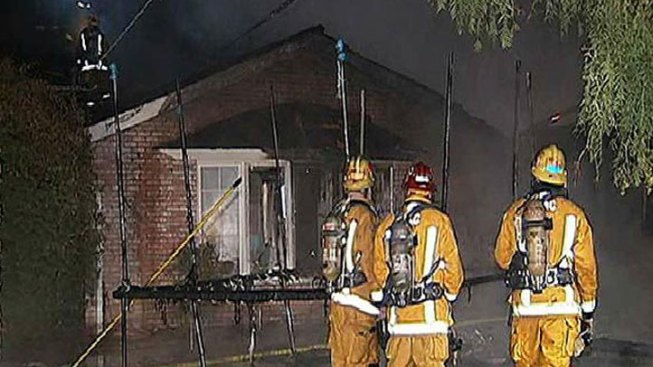 Family, Pets Escape House Fire