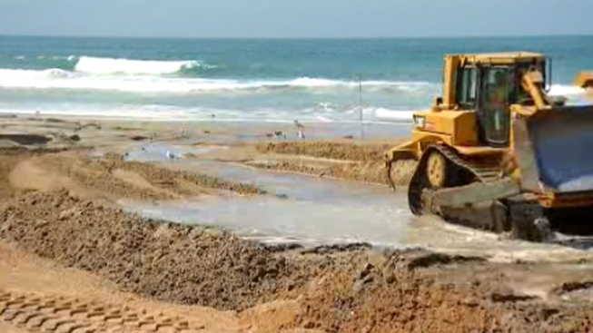 Sand Replenishment Project Wraps in Imperial Beach