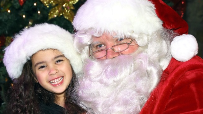 Visit with Santa at the Palm Springs Tram