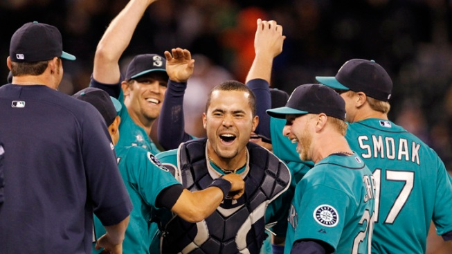 Mariners 6-Pack Combines for No-Hitter vs. Dodgers
