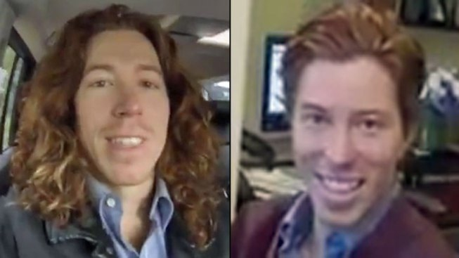 Shaun White Cuts Hair for Charity