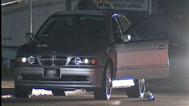 Man Shot Sitting in Parked BMW