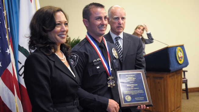 El Cajon Police Officer Awarded Medal of Valor