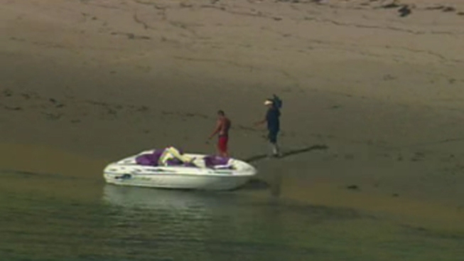 Suspected Smuggling Boat, Drugs Found in Ocean Beach