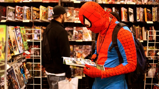 Comic Book Stores Cling to Life