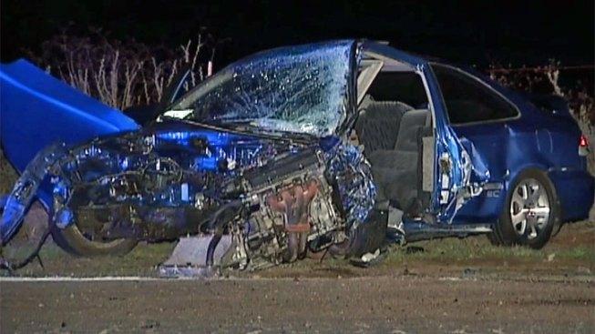 Suspected Street Racer Slams into Minivan: CHP