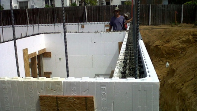 Building Houses From Styrofoam