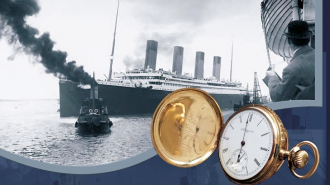 Titanic Photographs: Queen Mary Exhibit