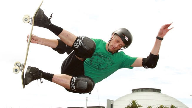 Skate with the Pros: Tony Hawk Rolls Into Encinitas
