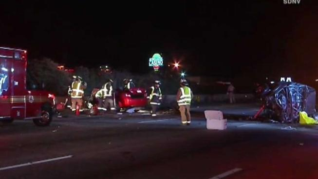 2 In Head On Collision On I 5 Freeway In Oceanside
