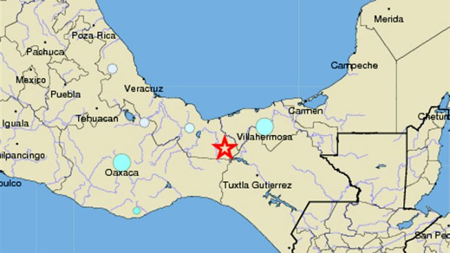 6.5 Quake Strikes Veracruz Mexico