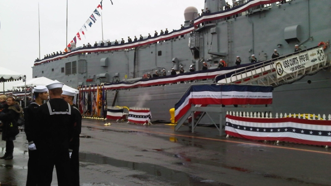 'Top Notch Ship' Honored at Decommissioning Ceremony