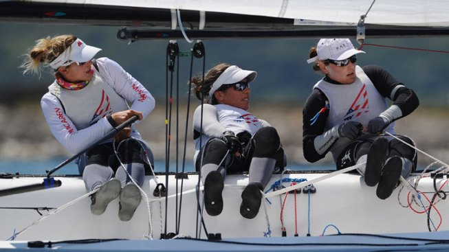 Coronado's Vandemoer Competes in Match Racing