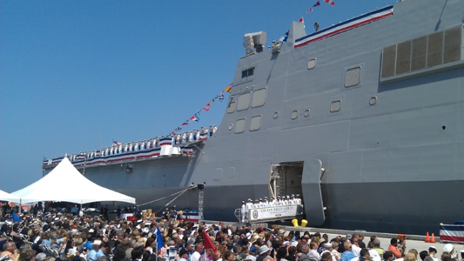 USS San Diego Officially Commissioned