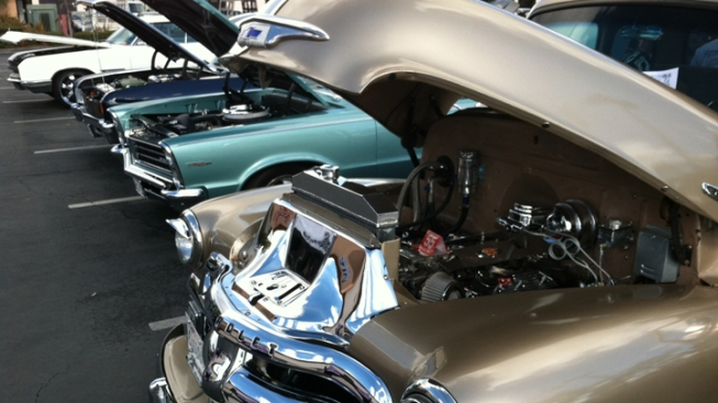 Car Show Fundraiser Benefits Veterans Who Lost Hot Rod Shop in Fire