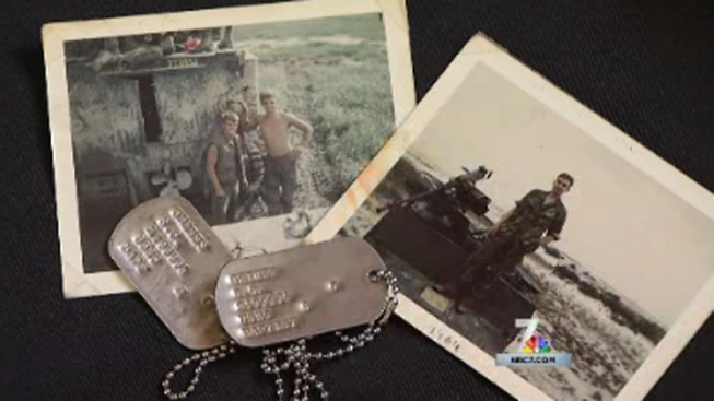 Vietnam Veteran Reunited With Long Lost Dog Tags