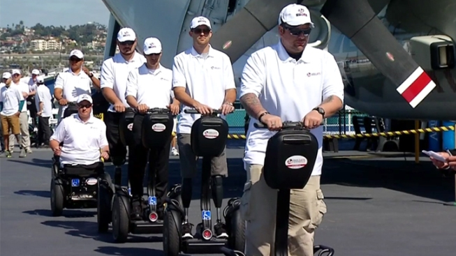 26 Wounded Vets Receive Segways