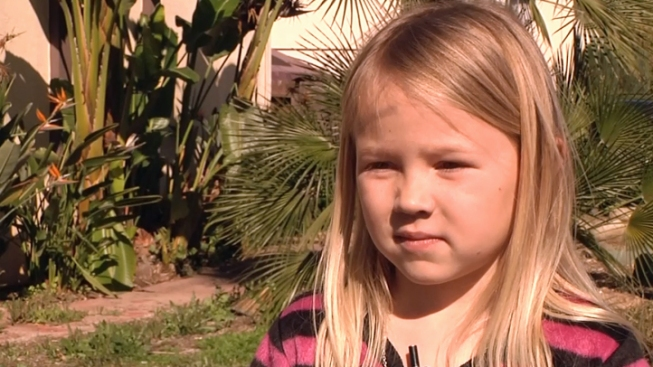 Girl, 7, Helps Save Family From Fire