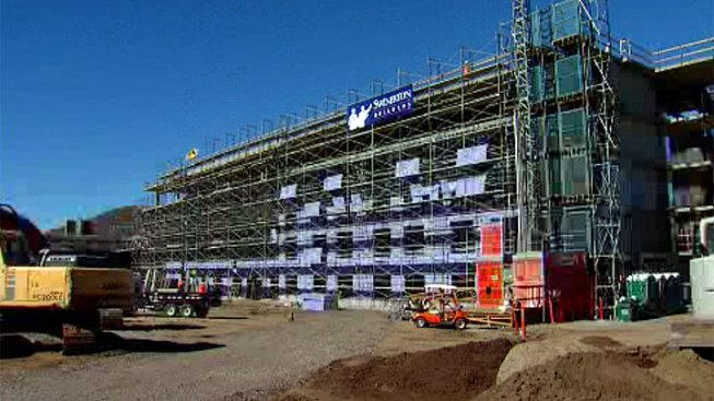 New Viejas Hotel Nears Completion