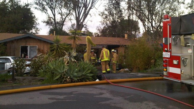 Scary Moments for Crew Fighting Vista House Fire