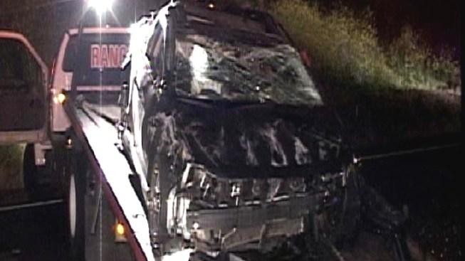 1 Killed in Bizarre Highway Crash
