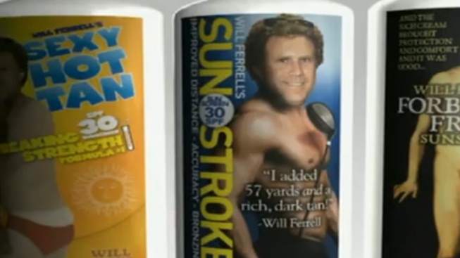 Will Ferrell's Sunscreen Sends Cancer Survivors to College