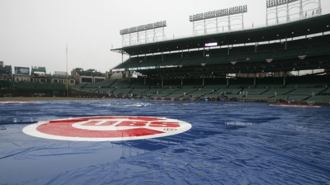 Padres-Cubs Game Postponed