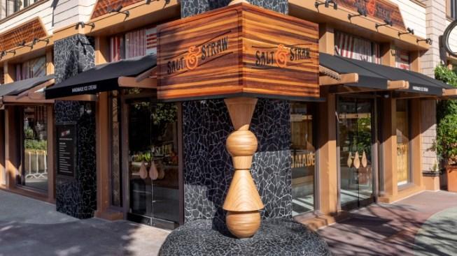 OC's First Salt & Straw Debuts at Downtown Disney