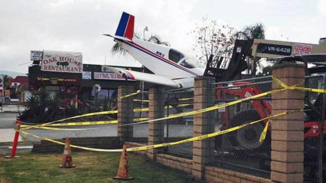 Man Stages Plane Crash for April Fool's Joke