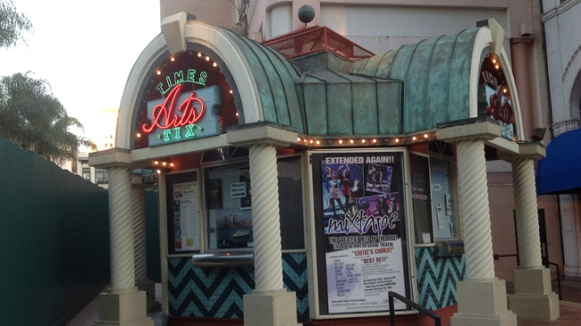 Horton Plaza's Arts Tix Box Office to be Demolished