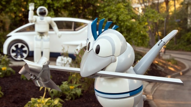 Disneyland's Autopia: 'All-New Look'