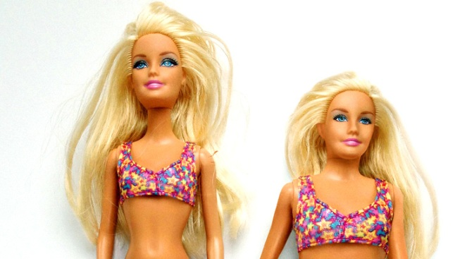 "Artist Creates Healthy, ""Normal"" Barbie"