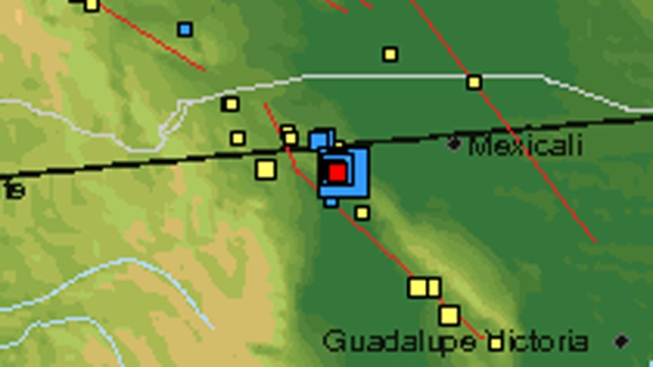 Earthquake Rattles Baja, Calif.