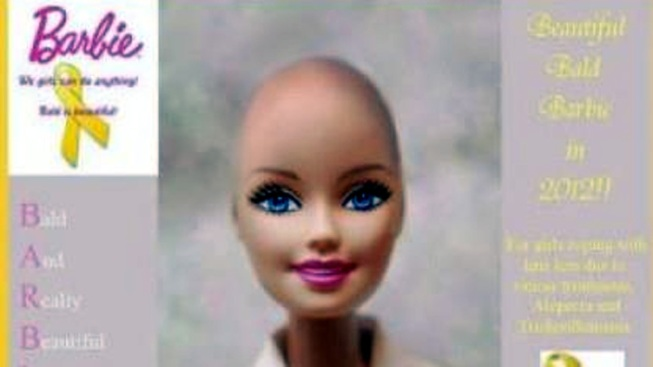 Lancaster Mother Campaigns for Beautiful and Bald Barbie