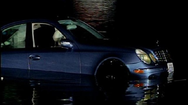 Benz Plunges Into Mission Bay