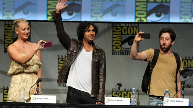 'Big Bang' Fan Wins Space Flight at Comic-Con