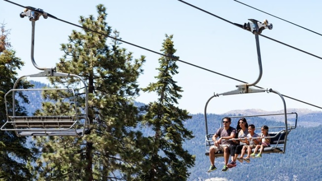 Heat Escape: Big Bear Scenic Sky Chair