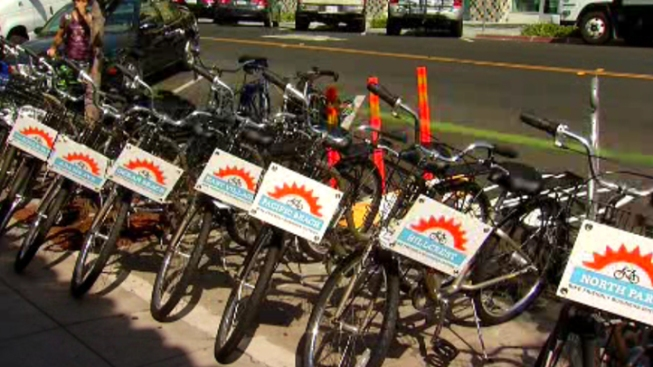 Bike Corrals Debut in North Park
