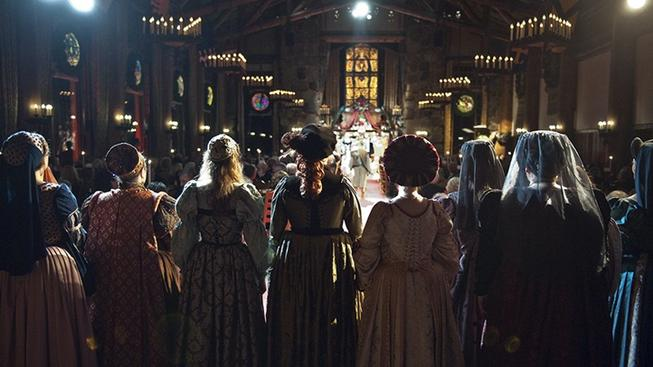 Goblets and Spirits Raised, at The Bracebridge Dinner
