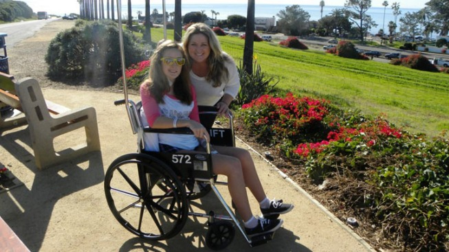 Sudden Severe MS Strikes North County Teen