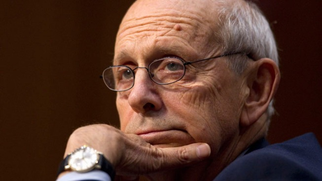 Supreme Court Justice Breyer Undergoes Shoulder Surgery