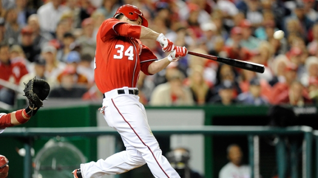 Bryce's Bomb Lifts Nationals