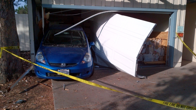 Car Smashes into Clairemont Home